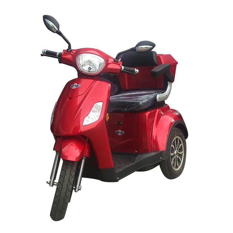 Elektrisches Dreirad für Passagiere