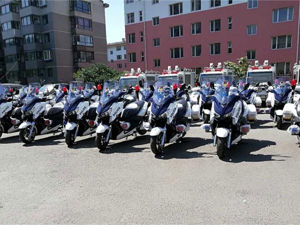 BENLG Police Ebikes