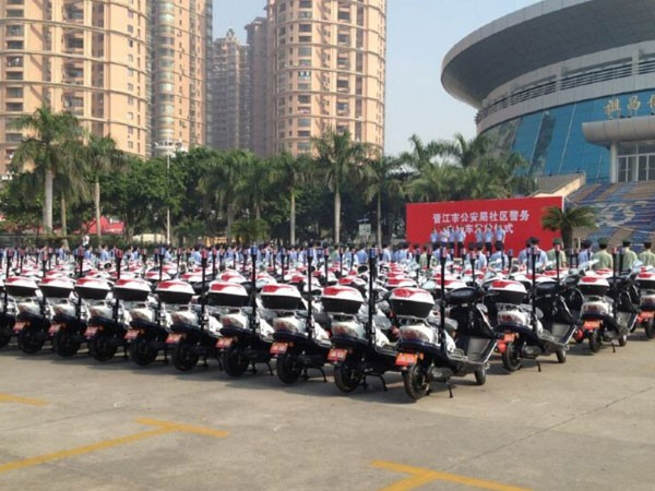 Provide Ebikes to 10+ Police Branches