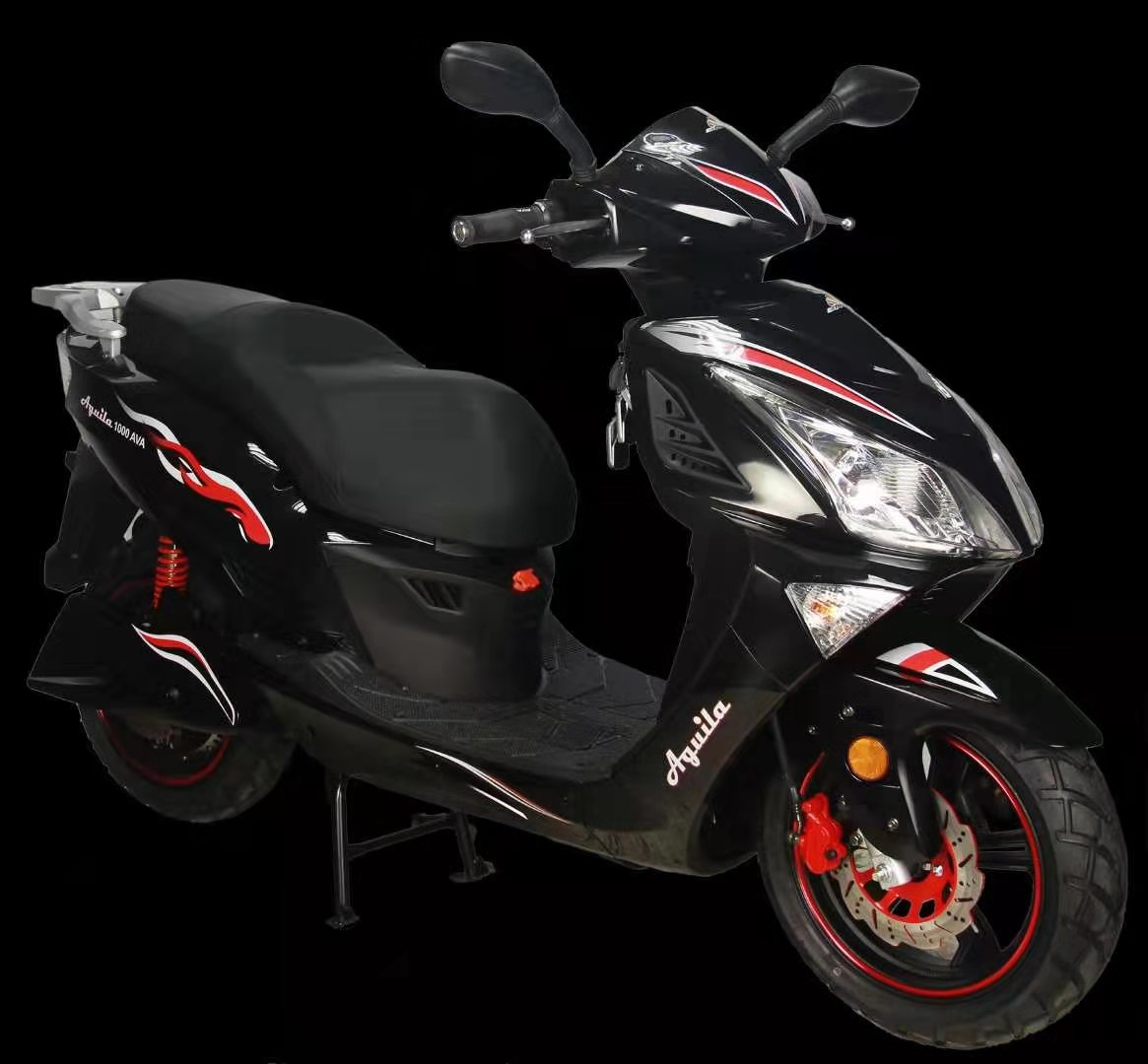 Electric Motorcycle with MP3