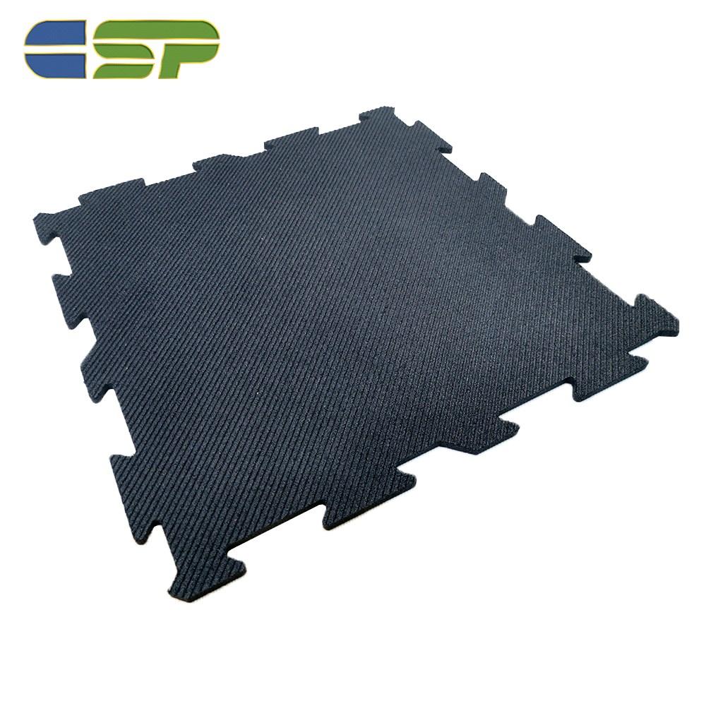 Outdoor Interlocking Rubber Floor Tile