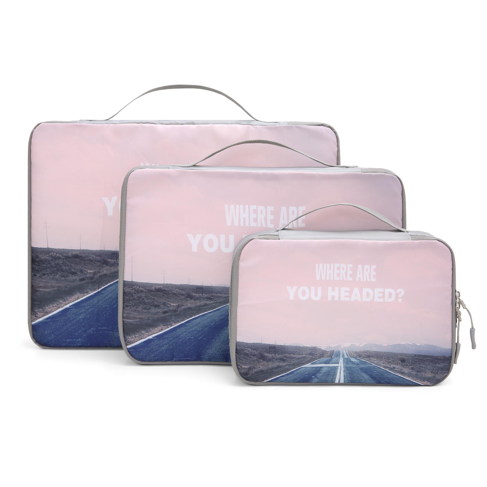 Cubes d'emballage de voyage