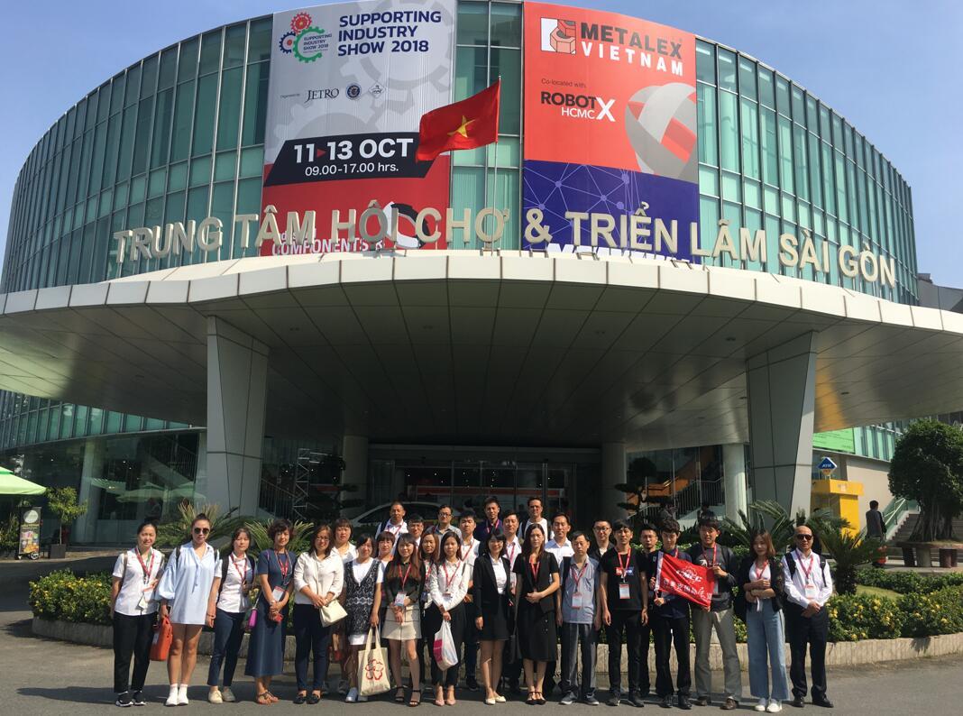 We Attend METALEX VIETNAM 2018 in HO CHI MINH