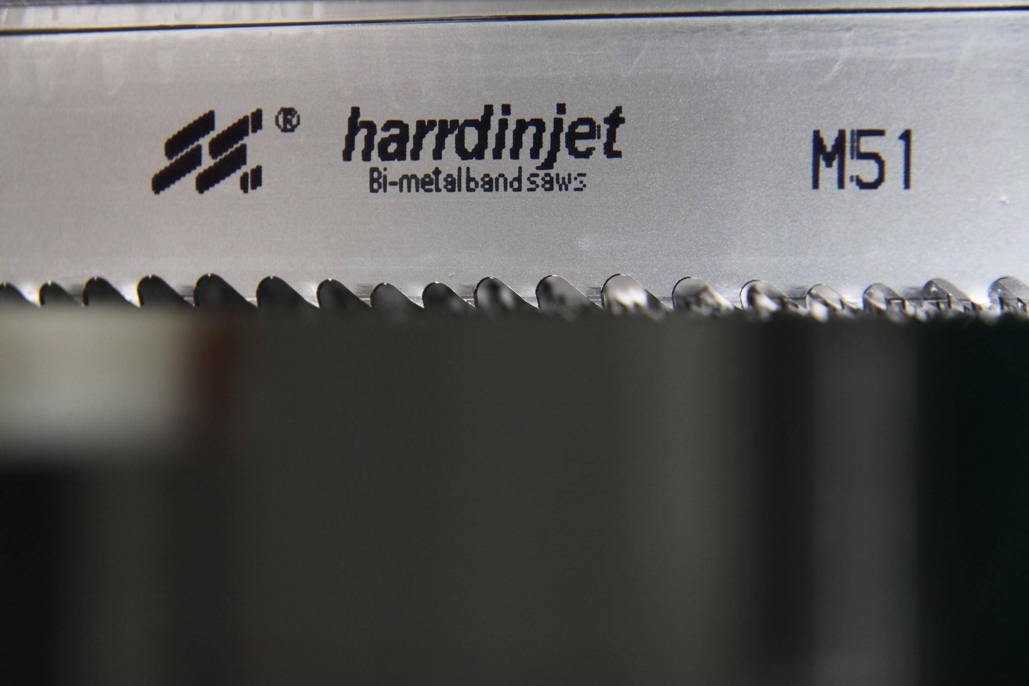 Harrdinjet Bimetal Band Saw Blade