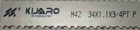 M42 Bimetal Band Saw Blade