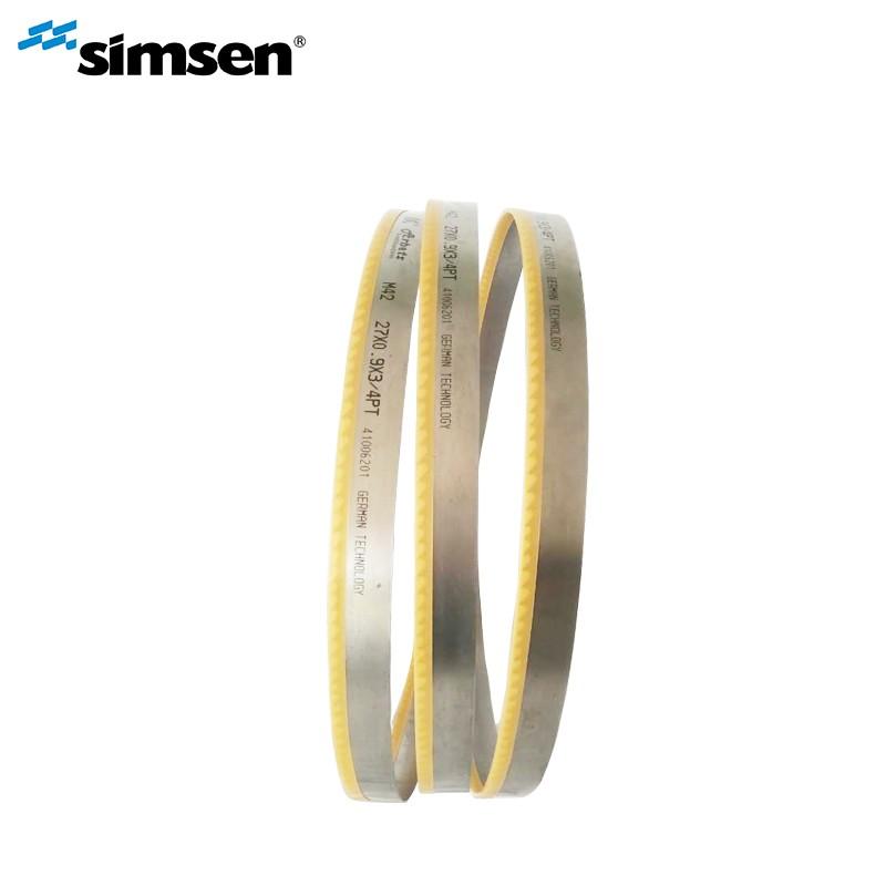 Hoja de sierra de cinta bimetálica de alto cobalto para corte de metales