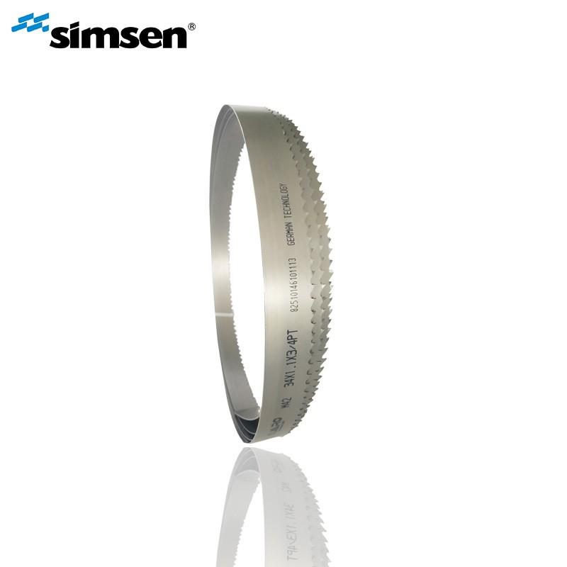 Hoja de sierra de banda flexible bimetálica HSS para cortar aluminio