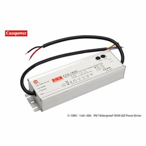 HLG185H 48V3.9A LED Waterproof tunnel lamp drive power supply