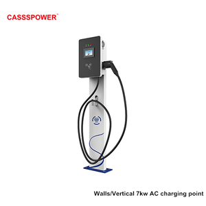 7kw floor stand electric car charging pile