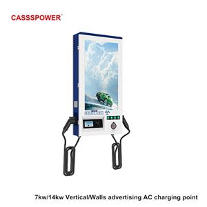 7kw/14kw wall mounted electric car charging pile