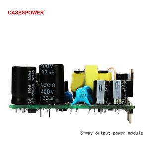 5V 5V 24V Power Module 3-way output PCBA power module