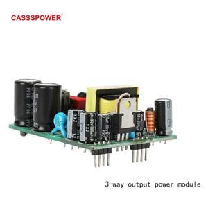 5V 12V 24V Power Module 3-way output PCBA power supply