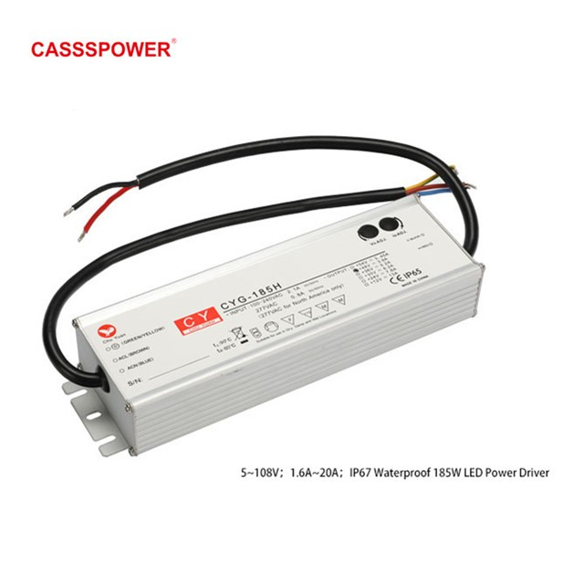 HLG185H 48V3.9A LED Waterproof tunnel lamp drive power supply Manufacturers, HLG185H 48V3.9A LED Waterproof tunnel lamp drive power supply Factory, Supply HLG185H 48V3.9A LED Waterproof tunnel lamp drive power supply