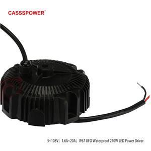 CYG-240 240W 24V10A waterproof LED high bay light power supply