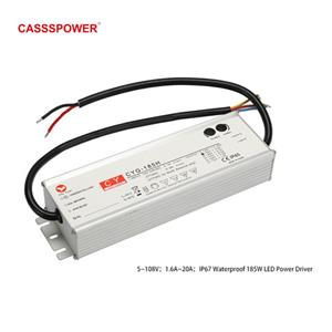 HLG185H 54V3.45A LED Waterproof tunnel lamp drive power supply