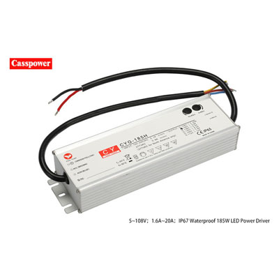HLG185H 20V9.3A LED Waterproof tunnel lamp drive power supply Manufacturers, HLG185H 20V9.3A LED Waterproof tunnel lamp drive power supply Factory, Supply HLG185H 20V9.3A LED Waterproof tunnel lamp drive power supply