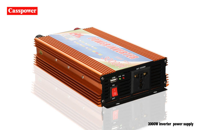 The working principle of inverter power supply