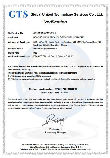 Homtecs H20 ชุดเราเตอร์ ได้รับการรับรองจาก FCC