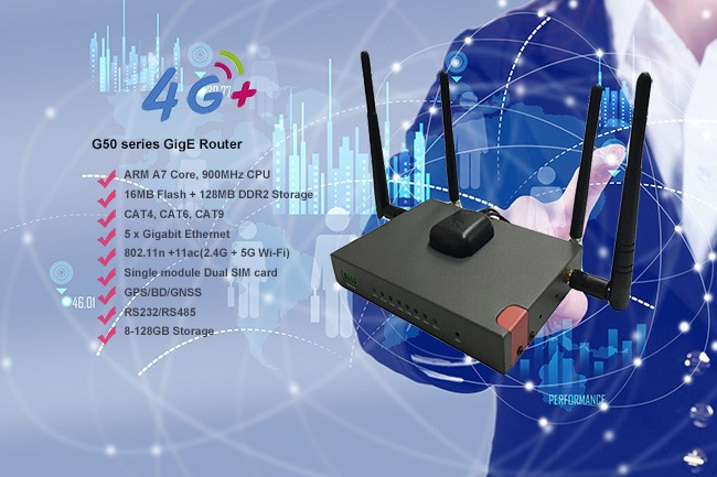 The development of Industrial Router