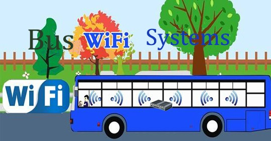Smart Bus WiFi system with Rugged router