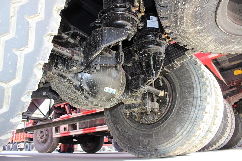 18 ton dump truck