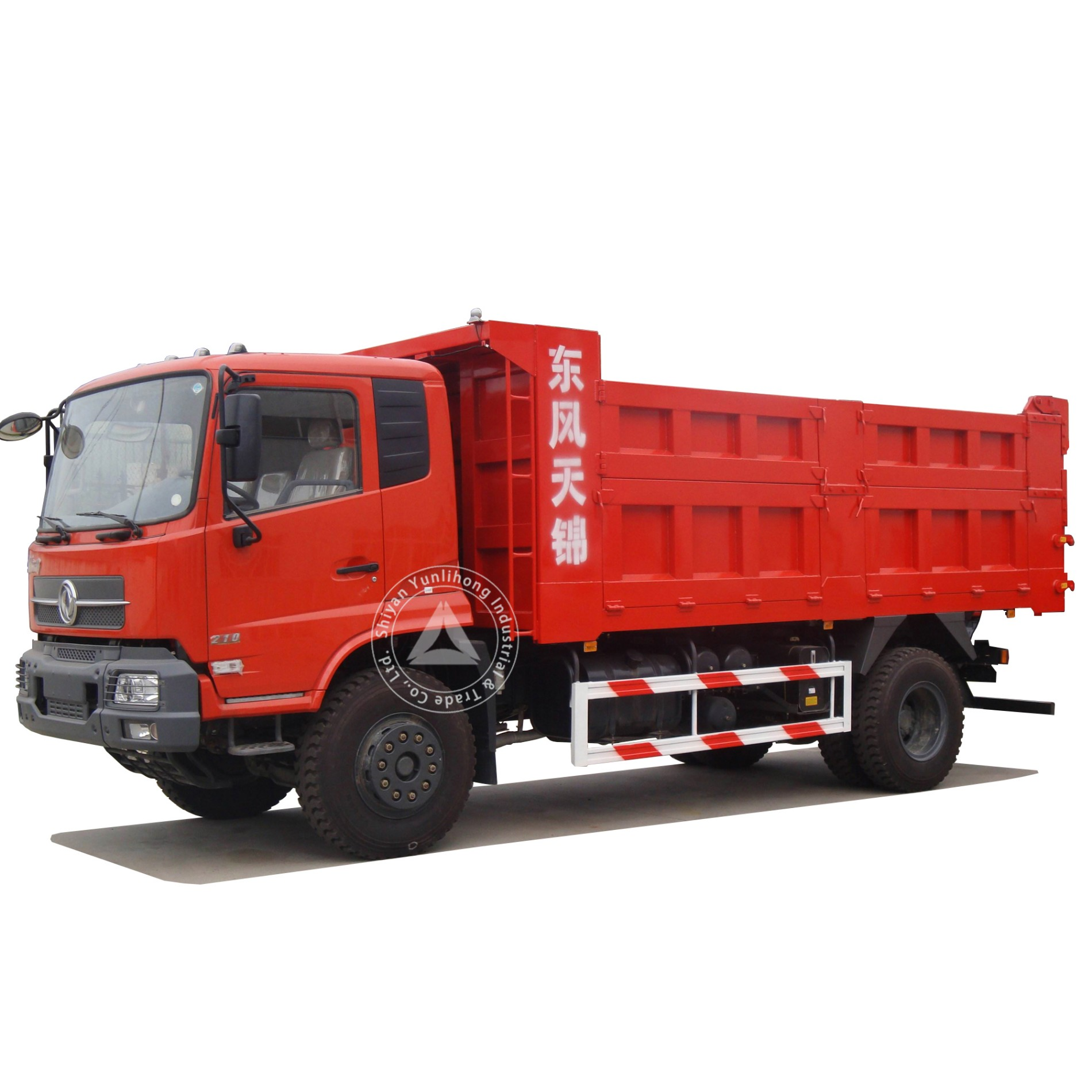 Dongfeng KR 4x2 240hp GVW 19 Ton 9m3 To 11m3 Dump Truck