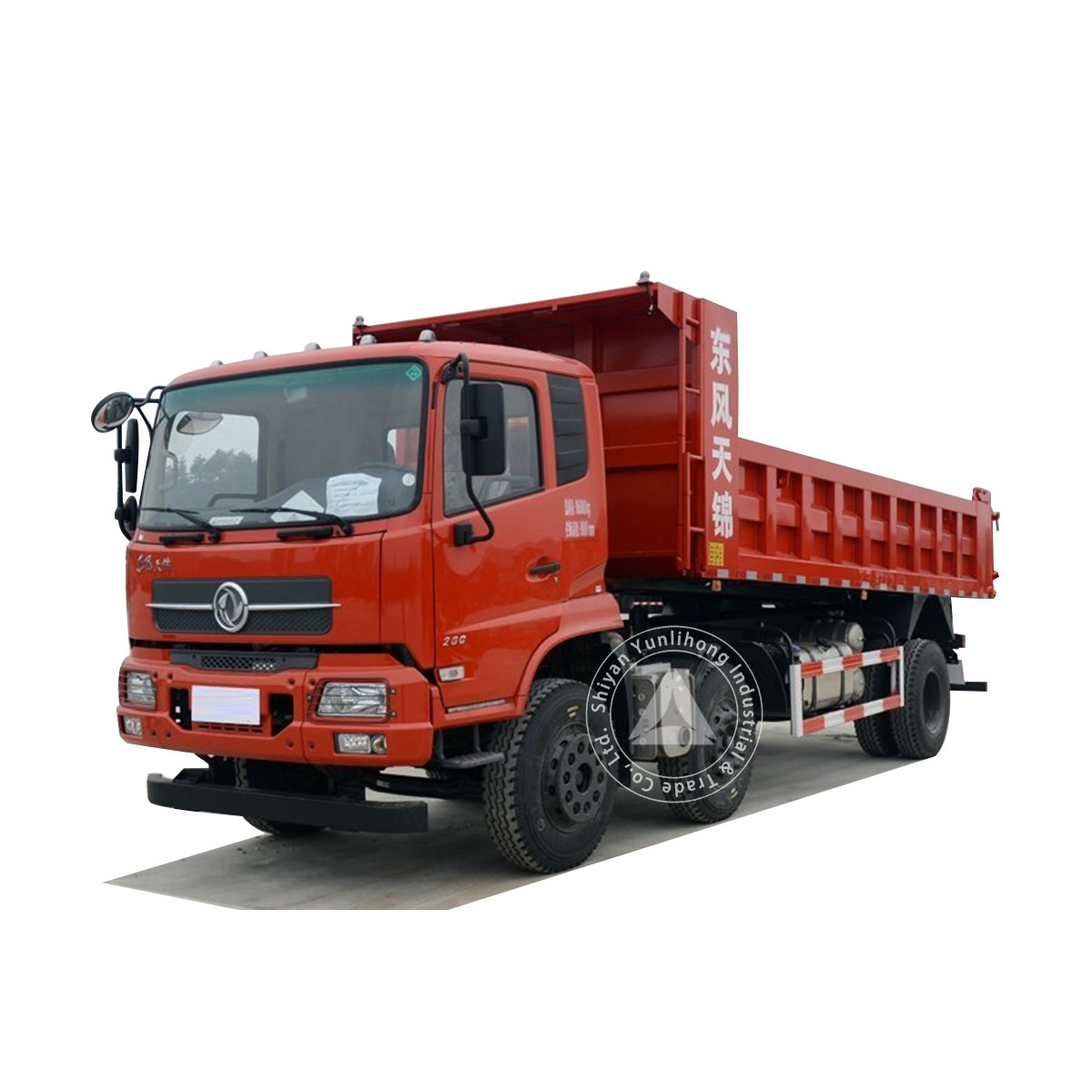 Dongfeng KR 6x2 180hp GVW17.2 Ton 15m3 To 18m3 Dump Truck