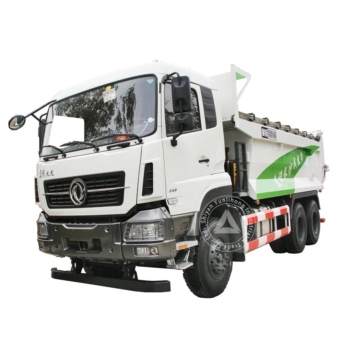 डोंगफेंग केसी 6x4 जीवीडब्ल्यू 33 टन 15 एम 3 टू 20 एम 3 डंप ट्रक