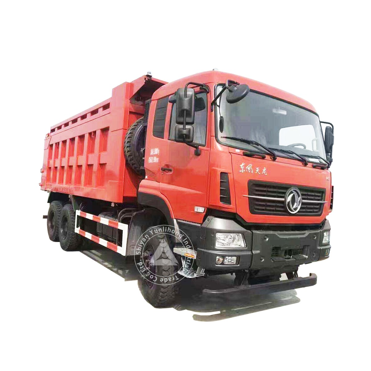 डोंगफेंग केसी 6x4 जीवीडब्ल्यू 35 टन 15 एम 3 टू 23 एम 3 डंप ट्रक