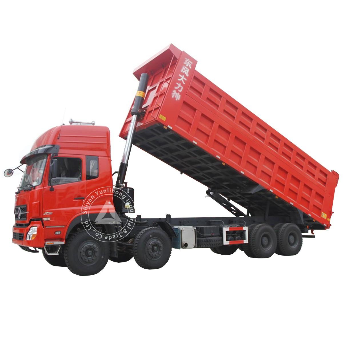 डोंगफेंग केसी 8x4 जीवीडब्ल्यू 40 टन 30 एम 3 डंप ट्रक