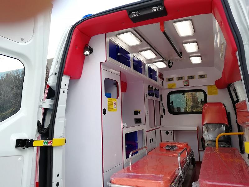 stretcher ambulance vehicle