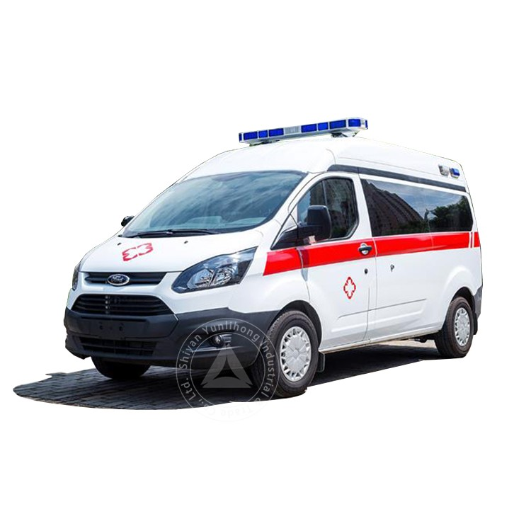 Middle Roof Diesel Transit Stretcher Ambulance Vehicle Sale
