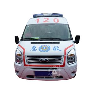 Middle Roof Diesel China Classic Ambulance For Sale