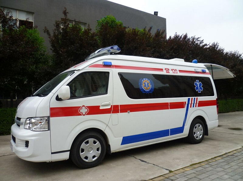 left hand drive ambulance