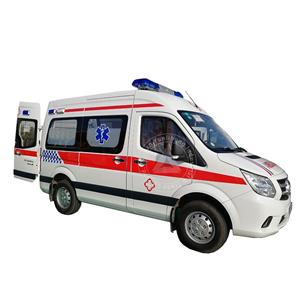 New Middle Roof Diesel Equipped Ambulance Van Price