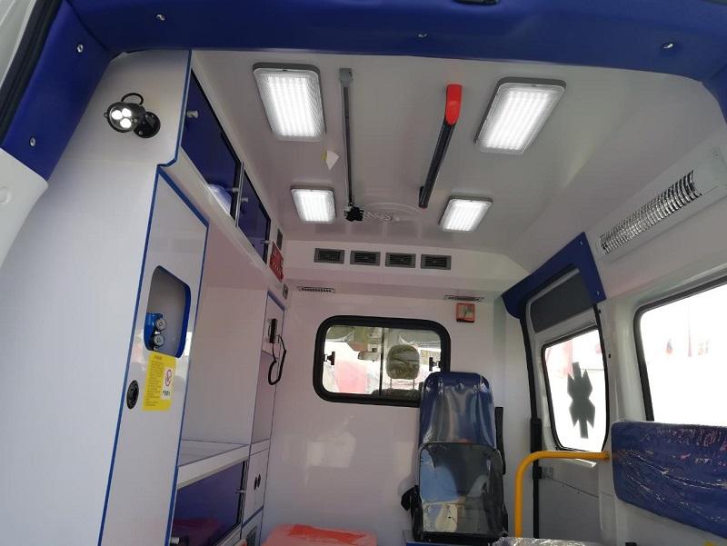 equipped ambulance