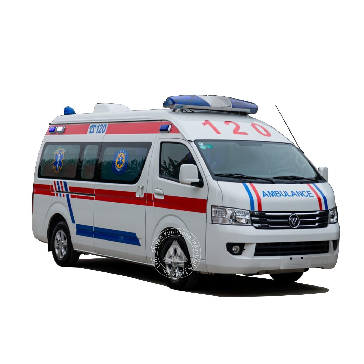 डीजल मध्य छत की देखभाल आपातकालीन एम्बुलेंस प्रकार
