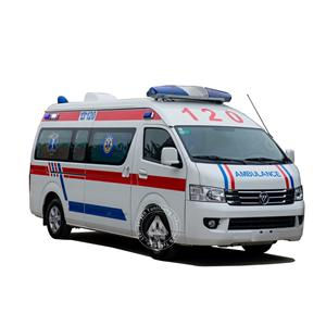 Diesel Middle Roof Care Emergency Ambulance Types