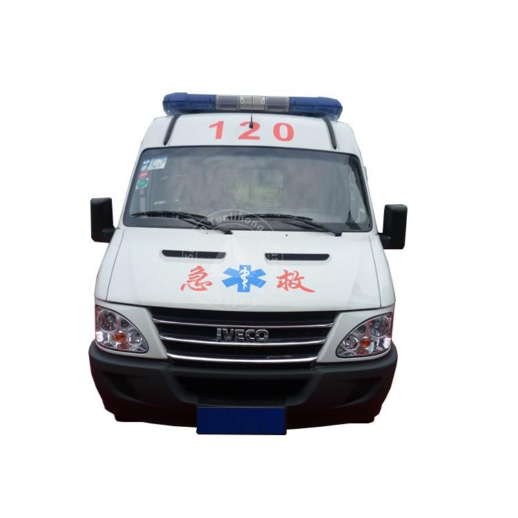 डीजल राइट हैंड ड्राइव एम्बुलेंस डिज़ाइन मेडिकल कार