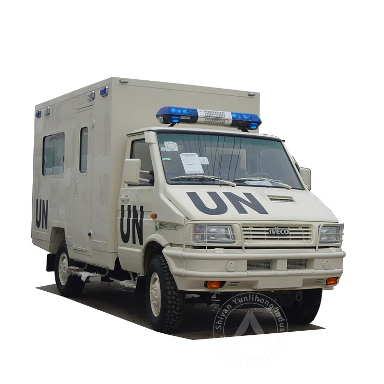 LHD Diesel Box-type Ambulance Truck For Sale 4x4