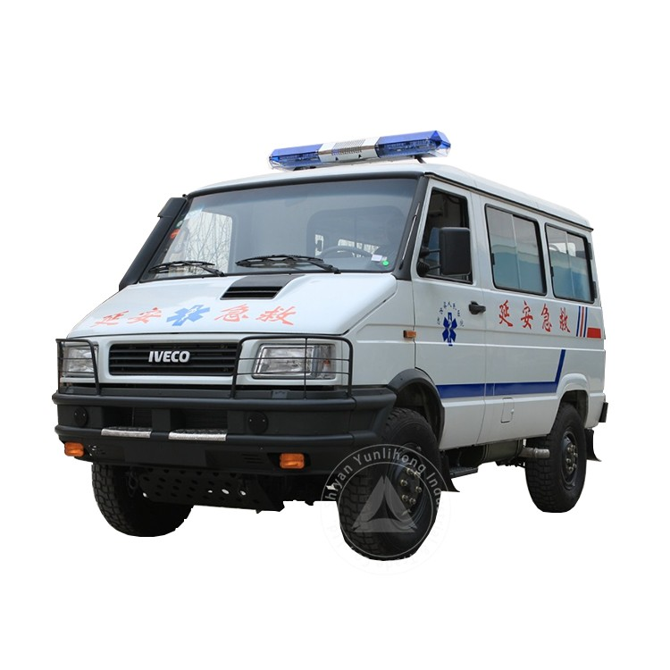 Iveco Ambulance Emergency For Sale 4x4 Government Vehicle