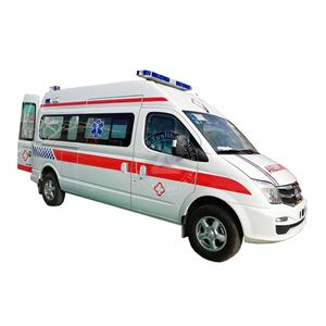New High Roof Diesel Lifecare Icu Ambulance Builders