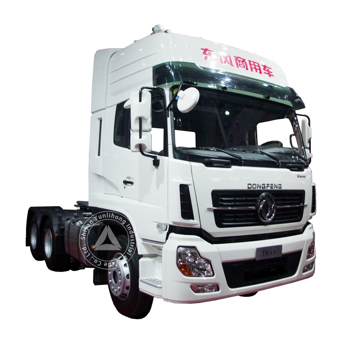 केएल 350hp 6x4 पेट्रोलियम और रासायनिक परिवहन ट्रैक्टर
