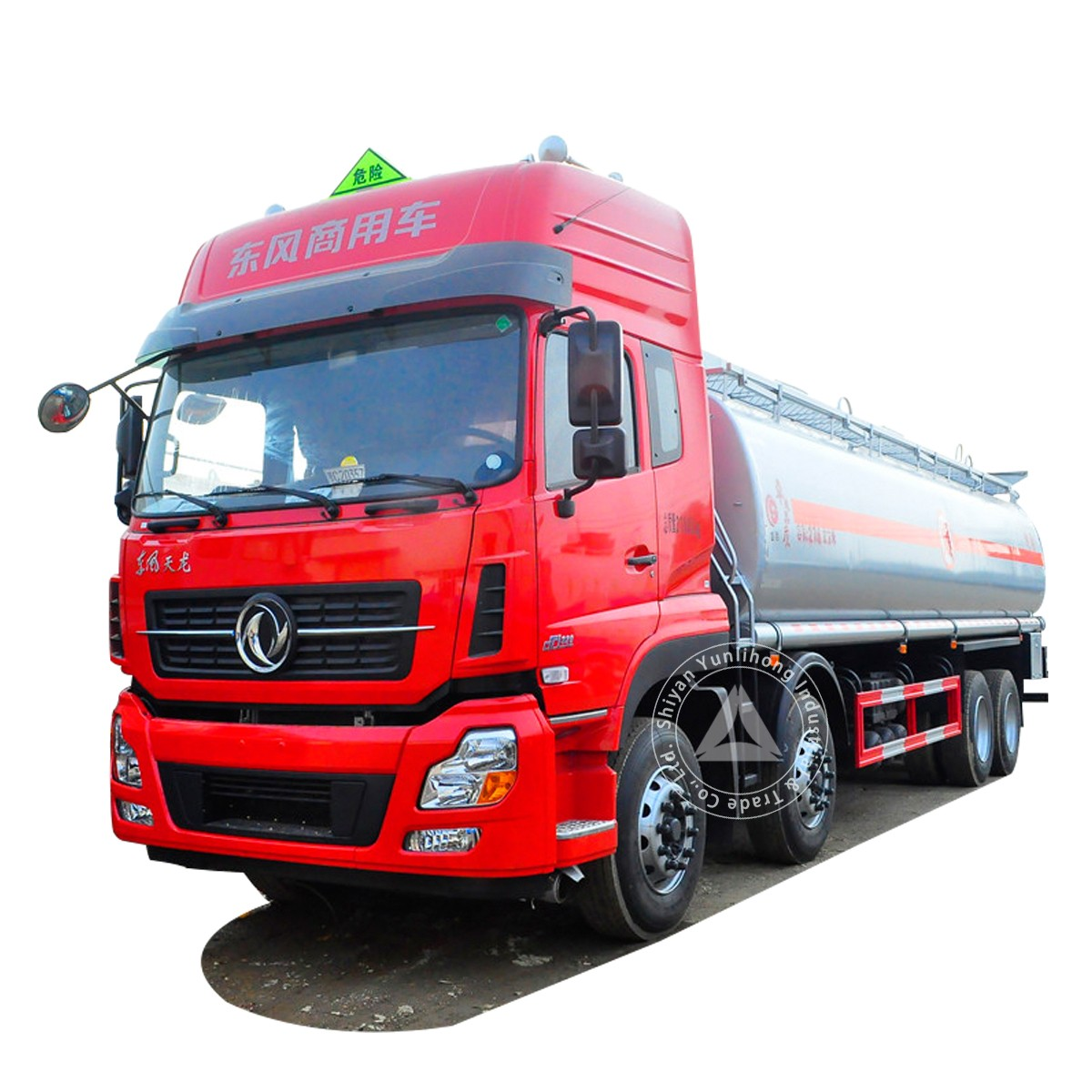 Dongfeng KL 8x4 GVW 30t Petroleum & Chemical Transport Tank Truck