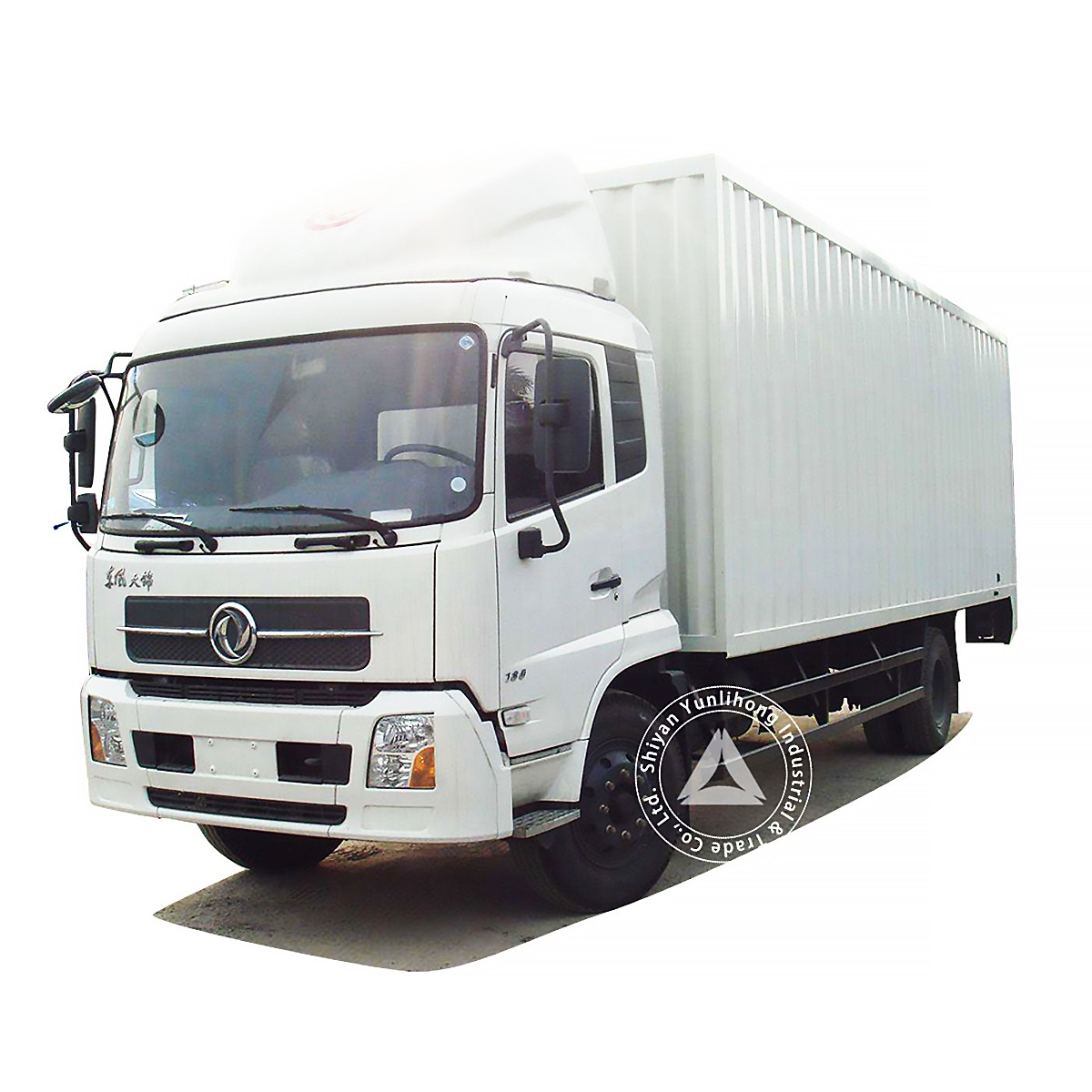 Dongfeng KR 4x2 GVW 9.6 Ton City Distribution Box TrucK Chassis
