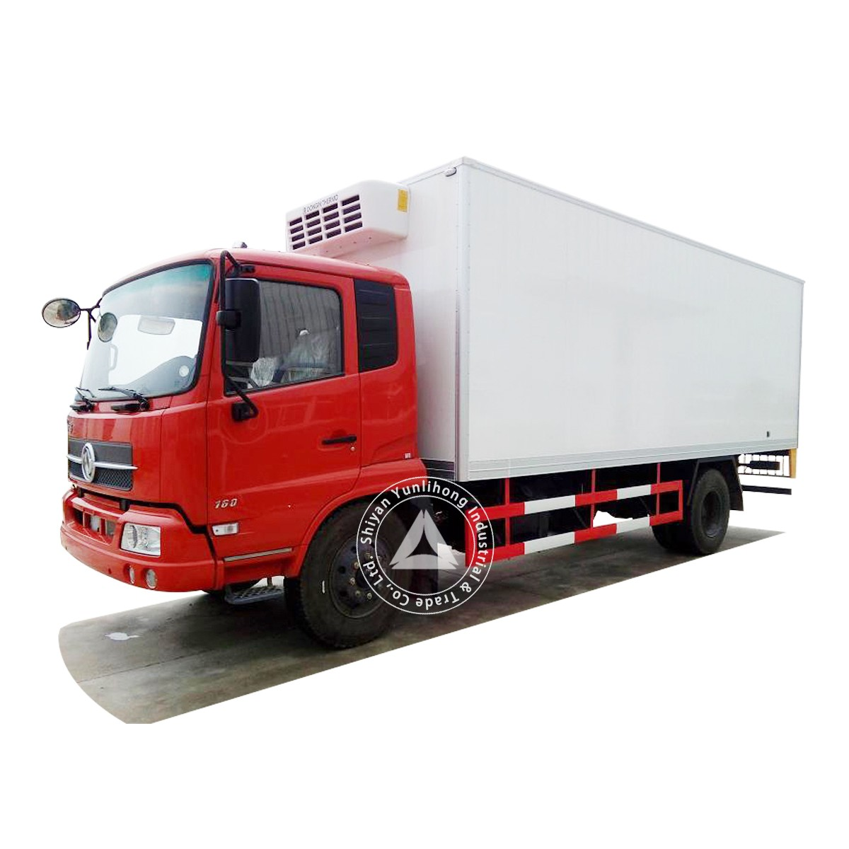 Dongfeng KR 4x2 GVW 11.6 Ton City Distribution Box TrucK Chassis