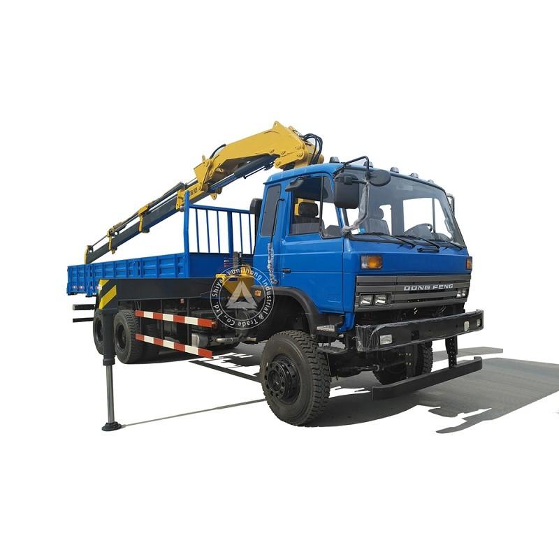 20 टन 6x6 ऑफ रोड ट्रक घुड़सवार बकल बूम क्रेन