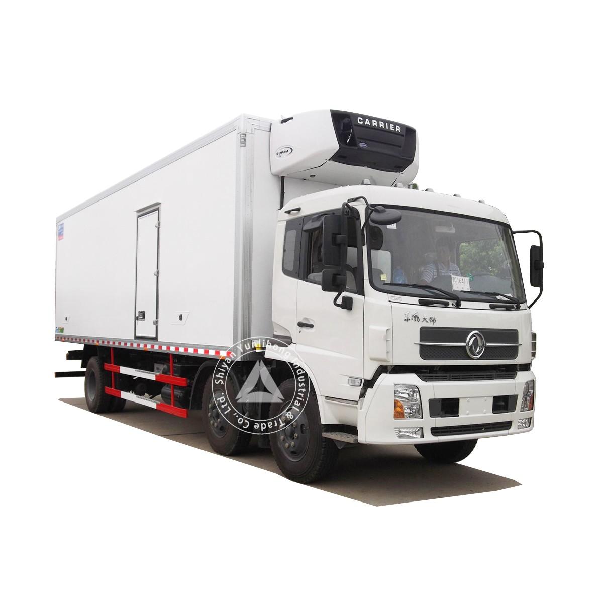 دونغفنغ KR 4x2 GVW 16 طن مدينة توزيع مربع شاحنة نقل الهيكل