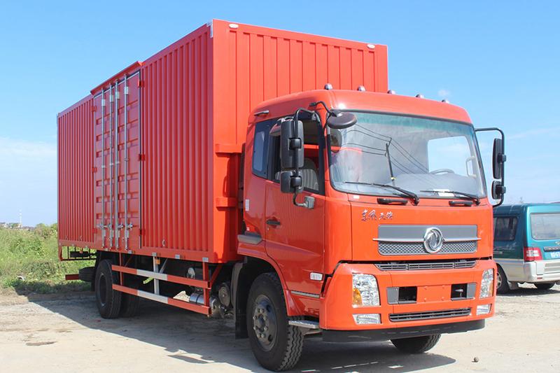 12 ton box truck