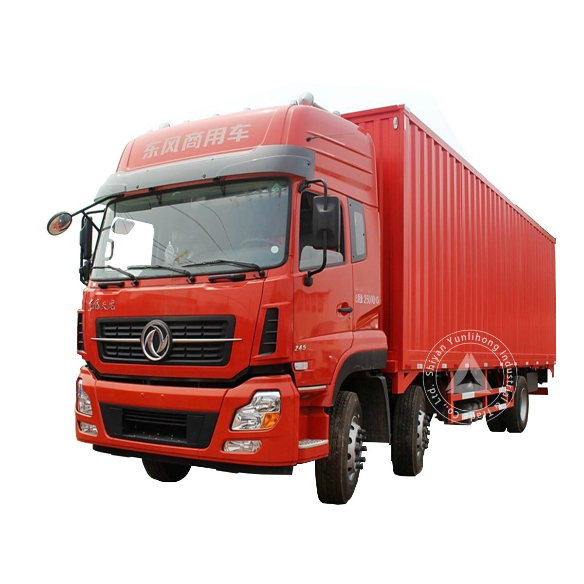 Châssis de TrucK de distribution régionale de 21 tonnes de Dongfeng KL 6x2 GVW